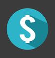 money symbol design vector image