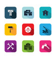 app building icon vector image