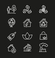 ecology - icon vector image