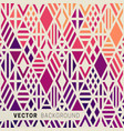 geometric colored background vector image vector image
