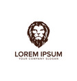 head lion logo design concept template fully vector image vector image