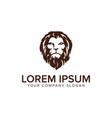 head lion logo design concept template fully vector image vector image