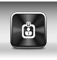 identification card icon profile search business vector image
