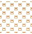 salmon sushi pattern vector image