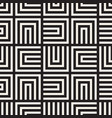 seamless lines mosaic pattern modern vector image vector image