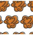 tunisian souvenir desert rose seamless pattern bud vector image vector image