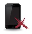 Smart Phone X vector image