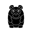 Cute little cartoon Panda vector image
