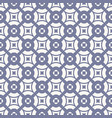 elegant geometric seamless pattern ornament vector image
