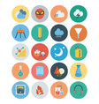Flat Science and Technology Icons 5 vector image vector image