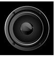 illustration of black sound speaker vector image