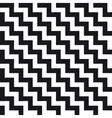 pattern chevron pixel vector image vector image