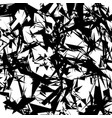 chaotic rough texture random pattern with vector image