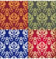 floral background wallpaper vector image vector image