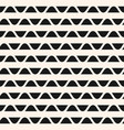 geometric seamless pattern with horizontal lines vector image