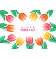 international womens day vector image