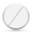 pill closeup vector image vector image