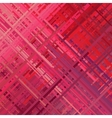 Red Glitch Background vector image vector image