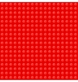 Red Seamless Background of Plastic Construction vector image vector image