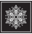 White snowflake vector | Price: 1 Credit (USD $1)
