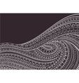 Zentangle Background vector image vector image