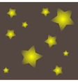 Abstract gray background with stars vector image