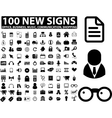 business media signs vector image vector image