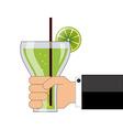 citrus juice vector image vector image