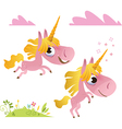 Collection of baby unicorn vector | Price: 1 Credit (USD $1)