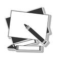 crayols drawing art vector image vector image