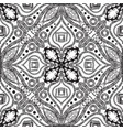 greek ethnic style black and white seamless vector image vector image