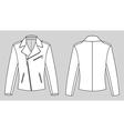 jacket vector image