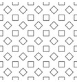 repeating abstract monochrome square pattern vector image vector image