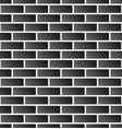 seamless brick wall background brick pattern vector image