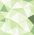 Abstract green with polygonal pattern on the wall vector image