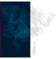 bluedarkwall vector image vector image