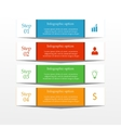 Business infographics banner vector image vector image
