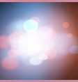 festive background with defocused bokeh and lights vector image vector image