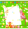 fun birthday party vector image