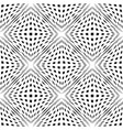 geometric checkered seamless pattern cubic shapes vector image vector image