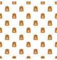 groundhog in spring icon flat style vector image vector image