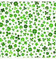 seamless pattern on st patricks day vector image vector image