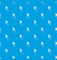 studio lighting equipment pattern seamless blue vector image vector image