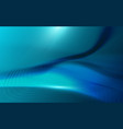 wavy abstract blue background in high-tech vector image vector image