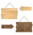 Wood Boards vector image