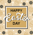 easter gold vector image