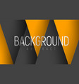 abstract background with black and yellow vector image