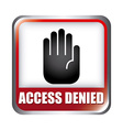 access denied design vector image