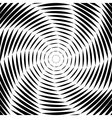 Design monochrome whirl movement background vector image