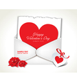 Envelope Love Valentine Day vector image vector image
